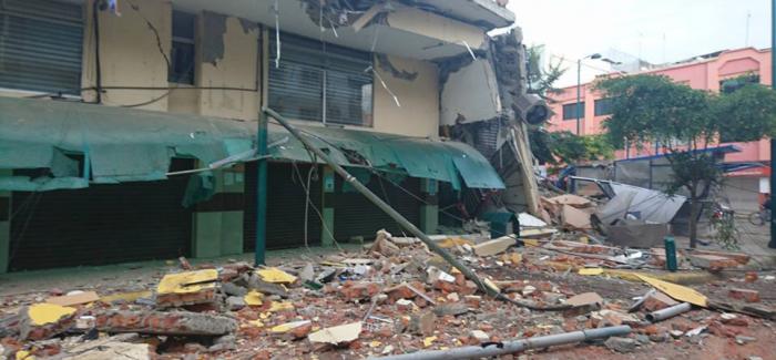 Earthquakes Hit Ecuador