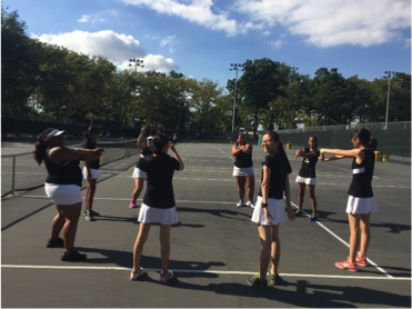 Hawks Girls Tennis Smacks Lincoln