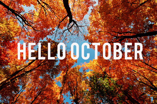 October Happenings Are Happening