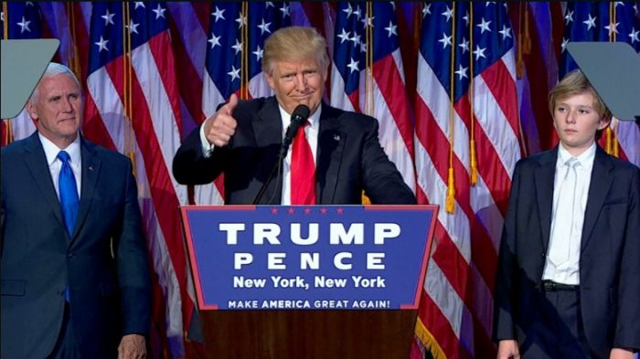 Welcome President Trump