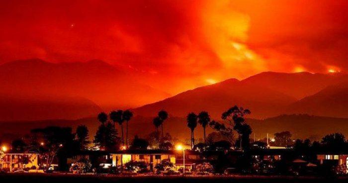 California Wildfires: Beautiful from Afar, Dangerous Up Close