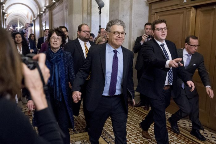 Shakeup on The Senate Floor: Al Franken