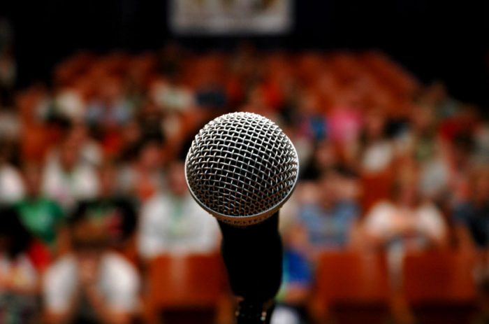 The Secret to Improving Public Speaking
