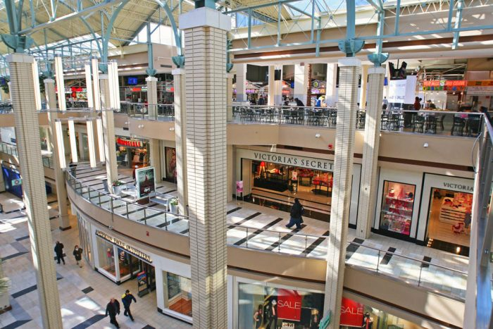 Stabbing At Newport Centre Mall