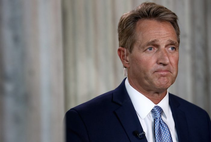 Women Demand Answers from Senator Flake