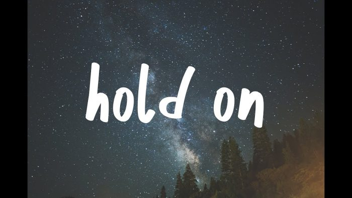 "Song: ""Hold On"""